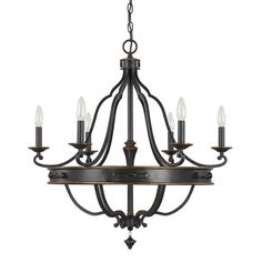 You'll love the Wyatt 6 Light Candle-Style Chandelier at Wayfair - Great Deals on all Lighting  products with Free Shipping on most stuff, even the big stuff.