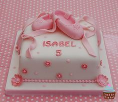 Ballet Shoes Cake | Flickr - Photo Sharing!