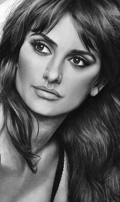 How to Get Started Drawing with Charcoal! Part charcoal drawing for beginners; Cool Pencil Drawings, Pencil Portrait Drawing, Easy Drawings, Penelope Cruz, Charcoal Drawing Tutorial, Charcoal Drawings, Compressed Charcoal, Allu Arjun Wallpapers, Fanart