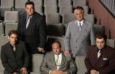 A gallery of The Sopranos publicity stills and other photos. Featuring James Gandolfini, Michael Imperioli, Edie Falco, Tony Sirico and others. Hbo Tv Series, Drama Series, Gangster Films, Tony Soprano, Instant Video, Great Tv Shows, The Godfather, My Heart Is Breaking, Best Tv