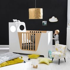 Lit enfant design E. Gallina, Popop