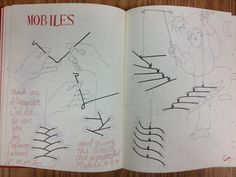 -make a mobile of a tree of life phylogeny -Project: students make a mobile phylogenic tree mobile for their animal/unit of study Illustration from Making Things Book 2 by Ann Wiseman Sculpture Lessons, Sculpture Projects, Art Projects, Art Lessons For Kids, Art Lessons Elementary, Art For Kids, Mobile Art, Hanging Mobile, Bird Mobile