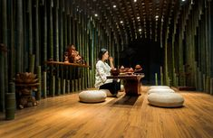 What impressive optical effects creates Minax with Lotus + Bamboo Let's take TEA with #Wood MOOD! #WoodLovers
