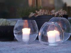 islyktor | ice lanterns
