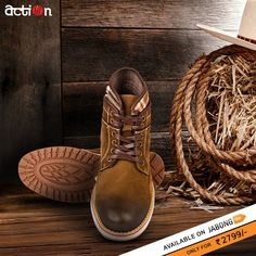 ffdeb6a50 Buy Action Coffee Boots Online - 5003817 - Jabong · Cool StuffStuff To BuyBoots  OnlineMoccasinsPairsActionCasual ShoesHouseFlats