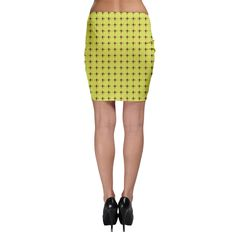 I Chinese Love U Hearts Bodycon Skirt 5 Colors