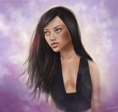 Kwamie Liv by JESSICA GUETTA   Digital Painting