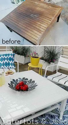 Awesome DIY Furniture Makeover Ideas: Genius Ways to Repurpose Old Furniture With Lots of Tutorials - Diy Möbel Diy Furniture Hacks, Repurposed Furniture, Furniture Projects, Furniture Making, Furniture Makeover, Furniture Stores, Cheap Furniture, Discount Furniture, Repainting Furniture