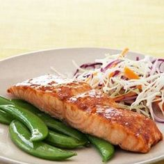 With only 270 calories per serving, this mouthwatering entrée is easy to make, and bursting with good-for-you omega-3 fats.