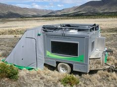 Ecombo is a rust-proof, solar-powered take on the teardrop trailer
