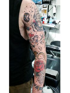 tattoos to fill in sleeves - Google Search