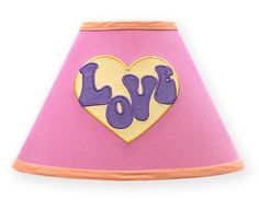 Sweet Jojo Designs Groovy Lamp Shade #tinytotties #kidsroomdecor