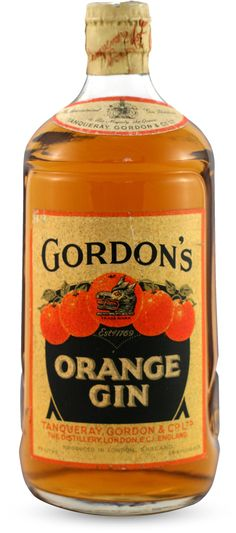 Gordon's Orange Gin – Gin – Spirits – Collection – Exposition Universelle des Vins et Spiritueux