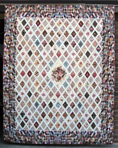 Interpretation of Jane Austen quilt - Pattern Link