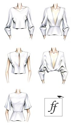 Top variations! how simple yet chic!