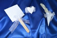 Wedding kit. 50 paper fan 50 paper cones 50 di BibliothecaSelecta