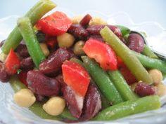 My Three Bean Salad-No Sugar