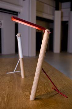 tuca tuca lamp by elia mangia for foundry - designboom   architecture & design magazine