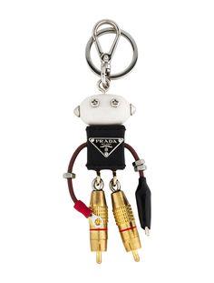 0173e12c7a47c2 Keychain w/ Tags. Prada PursesPrada BagPrada HandbagsLeather ...