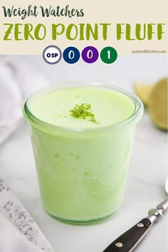 This light & fluffy Lime Fluff is zero SmartPoints on Weight Watchers Blue plan, Purple plan & Freestyle plan. It is 1 SmartPoint per portion on WW Green plan. Easy to make! Weight Watcher Desserts, Weight Watchers Snacks, Plan Weight Watchers, Weight Watchers Smart Points, Weight Loss Drinks, Ww Recipes, Low Calorie Recipes, Cooking Recipes, Dessert