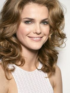 Keri Russell. Love her hair color