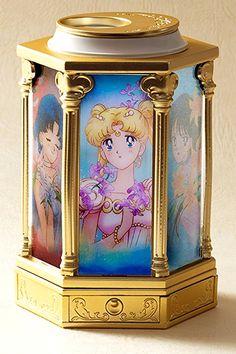 Tamashii Nations Sailor Moon Tuxedo Mirage music box!  Buy here http://amzn.to/2in5RNs