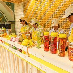 フレッシュなフルーツや、スーパーフードが沢山ならんだFruits in Tea OMOTESANDO plus Superfoodのカウンター。組み合わせは約4万通り!どれにする?なにいれる?その日の気分でチョイスしてくださいね。#フルーツインティー #fruitsintea #フルーツティー #fruitstea #水出し紅茶 #スーパーフード #superfood #リプトン #Lipton #アイスティー #icetea #フルーツ #fruits #紅茶 #tea #夏 #summer #ティータイム #teatime #teastagram #ilovetea #bemoretea #カフェ #カフェ部 #カフェ巡り #カメラ女子  #カメラ女子部 #表参道 #omotesando #リプトンカフェ
