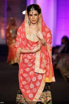 I LOVE THIS!!! #Aamby Bridal Fashion Week 2012   Meera and Muzaffar Ali