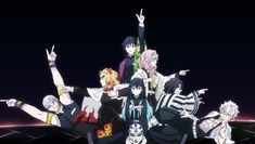 They are all so precious 💙 - Artis Anime Crossover, Demon Slayer, Slayer Anime, Death Parade, Anime Demon, Anime Shows, Me Me Me Anime, Cute Pictures, Fairy Tales