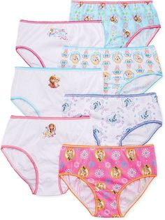 Girls My Little Pony Briefs 3 Pack Knickers Underwear Set 3 Pairs Multipack Kids