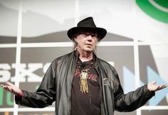 Snapshot: March 12 - Neil Young   - On a mission for digital sound quality. GRAMMY winner Neil Young discusses his new PonoMusic service at South by Southwest on March 11 in Austin, Texas