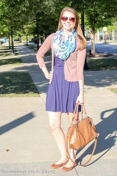 Fashion Friday- Early Fall Scarf | Running in a Skirt