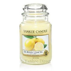 Yankee Candles UK | Yankee Candle Sicilian Lemon Large Jar