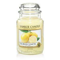 Yankee Candles UK | Yankee Candle Sicilian Lemon Large Jar