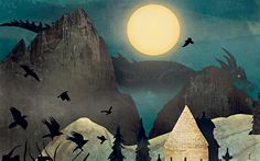 Four characters are on a long journey across a troubled fifth-century Britain: Axl   and Beatrice, a wounded boy named Edwin and a Saxon warrior disguised as a   shepherd. They stop for one night at a monastery