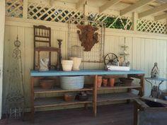 Bella Dreams: potting bench