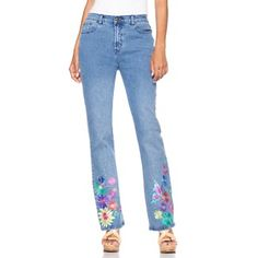I had a really awesome pair of hand embroidered jeans my jr snr floral butterfly embroidered jean reminds me of our sixties style ccuart Gallery