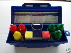 Pool Test Kit Water, 5-Way, pH Acid Chlorine, Bromine, Spa Hot Tub Chemical, New #PoolStyle