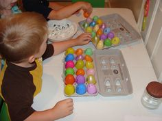 Tons of educational preschool Easter ideas