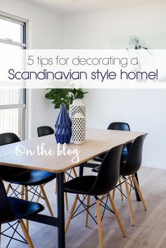 Scandinavian dining room ideas and inspiration Scandinavian Style Home, Scandinavian Design, Dining Chairs, Dining Room, Space Interiors, Nordic Design, Inspired Homes, Gold Coast, Sweet Home