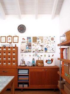 Inspiration: Geninne's Art Studio