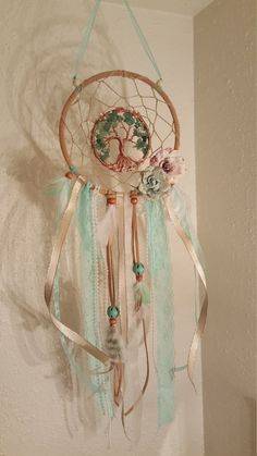 RESERVED FOR AIMEE/ Vintage Inspired Tree Of by PrettyThingz4UByMe
