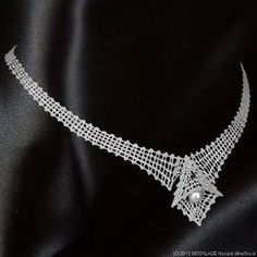 Paličkovaný náhrdelník LISA