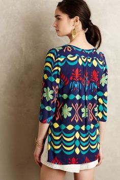 Sun-Up Peasant Top - anthropologie.com