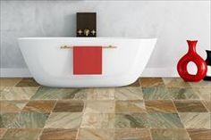 Golden White - Bathroom View