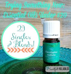 Trying Something New: Essential Oils Under $20. 29 Singles and Blends! Heartfelt Hullabaloo