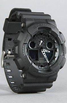 Best Watches 6: G-Shock GA-100-1A1 Big Combi Military Series Watch ~ Gadget Watch 101 http://gadgetwatch101.blogspot.com/2013/02/best-watches-6-g-shock-ga-100-1a1-big_8.html