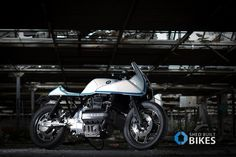 An amazing BMW K100R