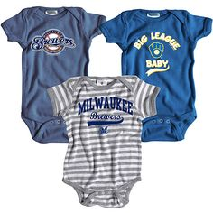YES PLEASE!!!! Infant Milwaukee Brewers Clothing - Milwaukee Brewers Infant Clothes, Jersey & Apparel at MLB.com Shop