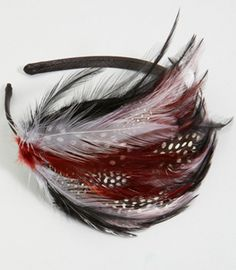 Tango feather headband ...love the colors and the $10 price tag!